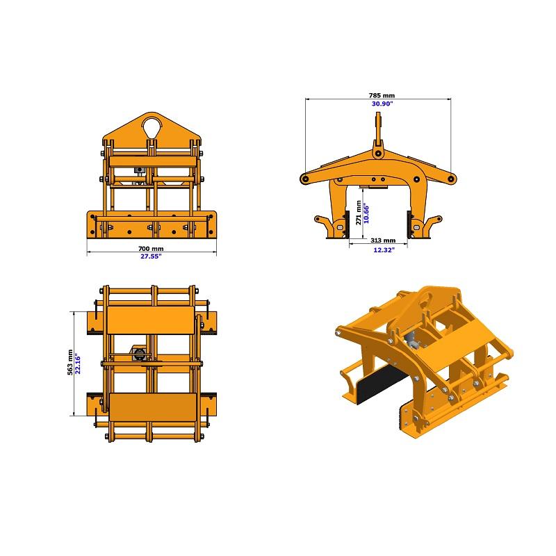 장벽 리프터 ABL-255/3000