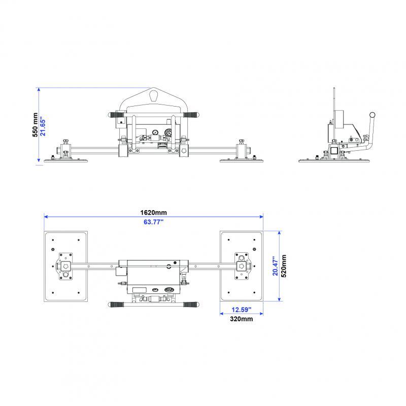 진공 리프터 AVLM2-500kg