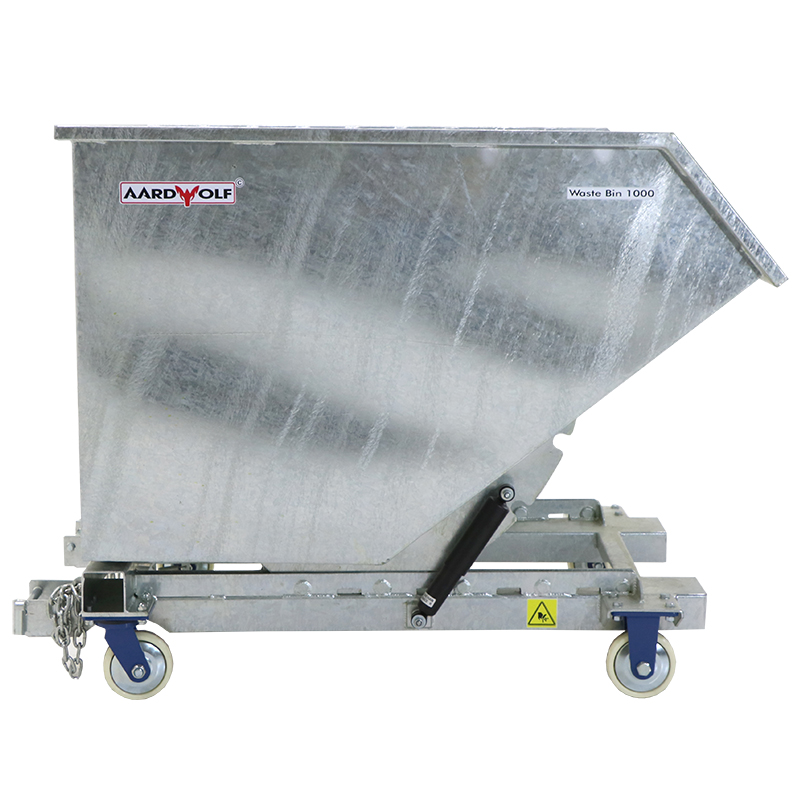 Thùng rác WB - 1000 (mạ kẽm) dày 3mm