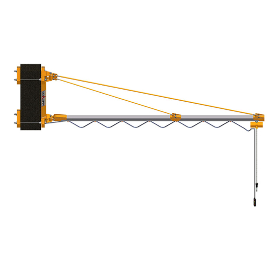 Enclosed Track Jib Crane - Wall Mounted