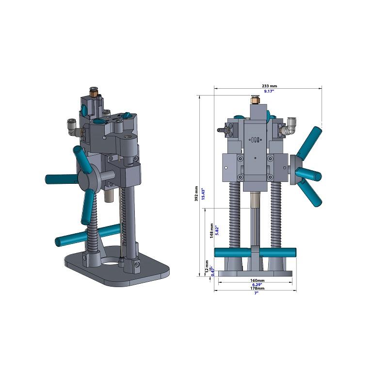 Portable Air Drill Machine APADM