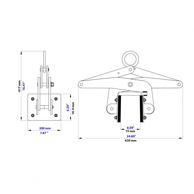 Thiết bị kẹp kiểu kéo ASL-105