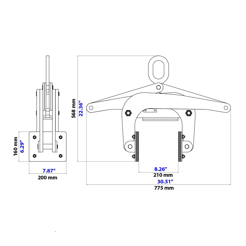 Thiết bị kẹp kiểu kéo ASL-200