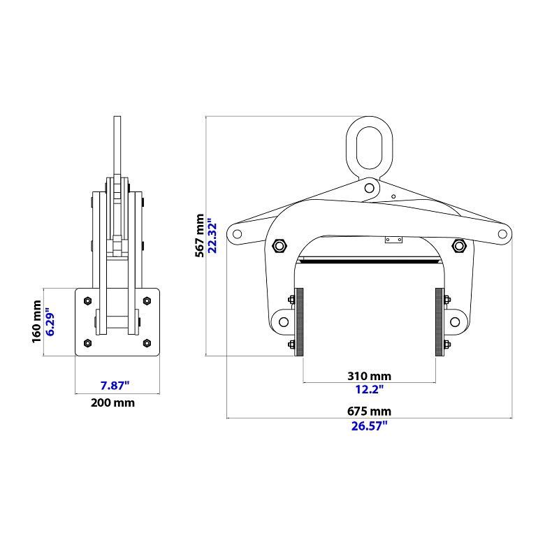 Thiết bị kẹp kiểu kéo ASL-300