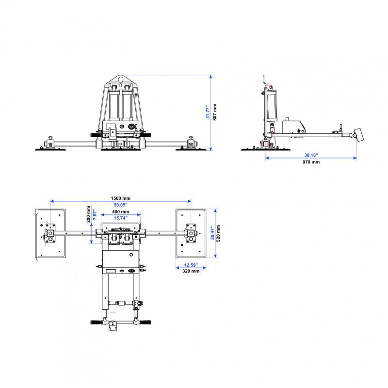 Vacuum Lifter AVLP3-600kg