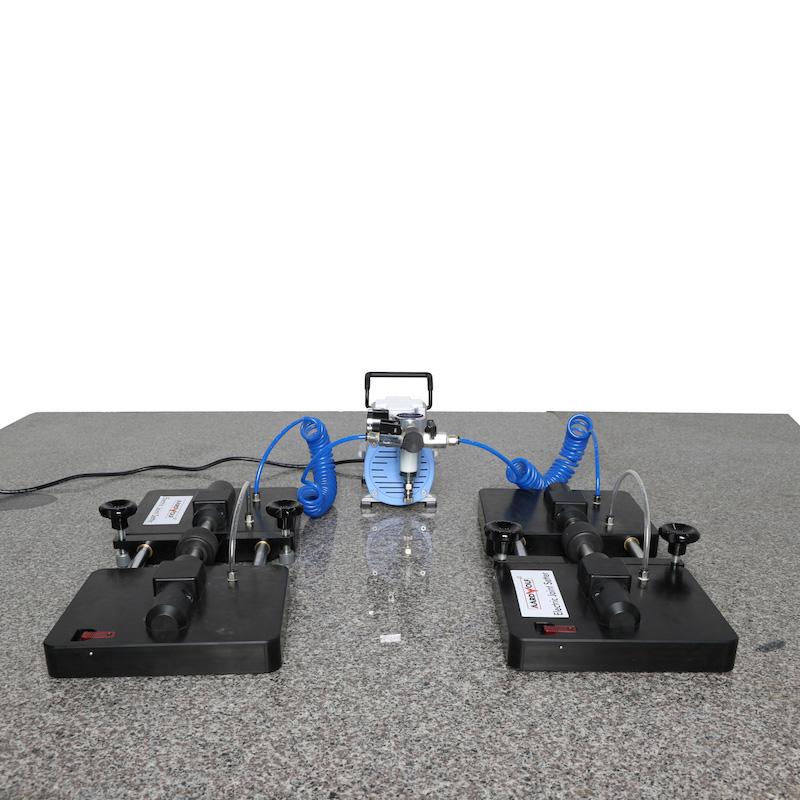 Dụng cụ căn chỉnh khe hở vật liệu bằng điện