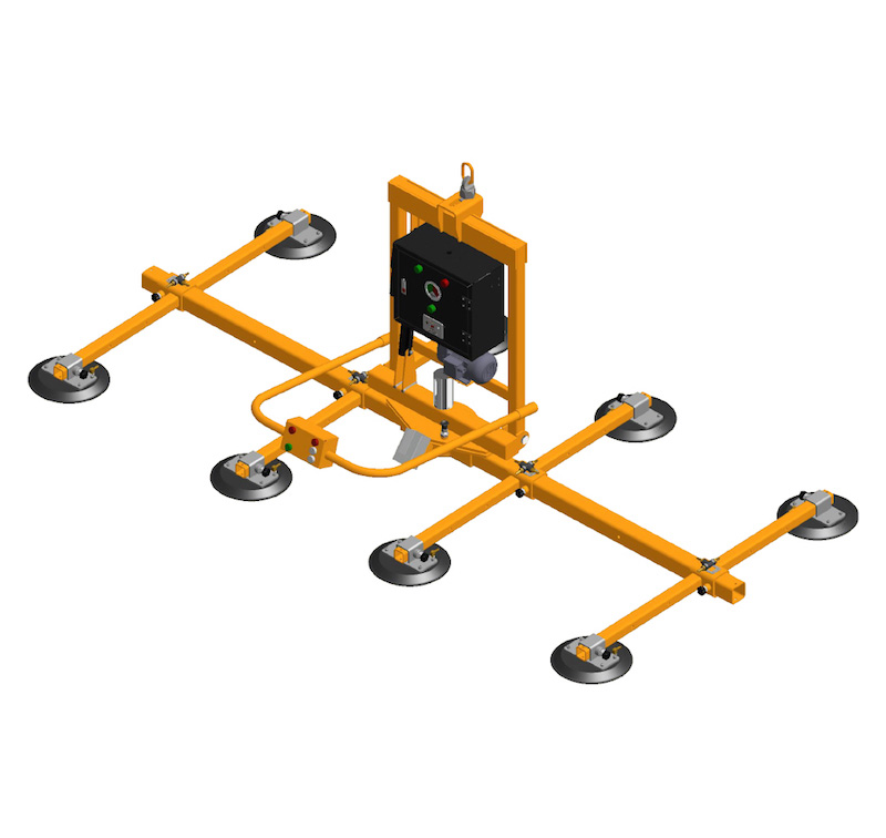 Electric Powered Vacuum Glass Lifter AEPVGL-MR