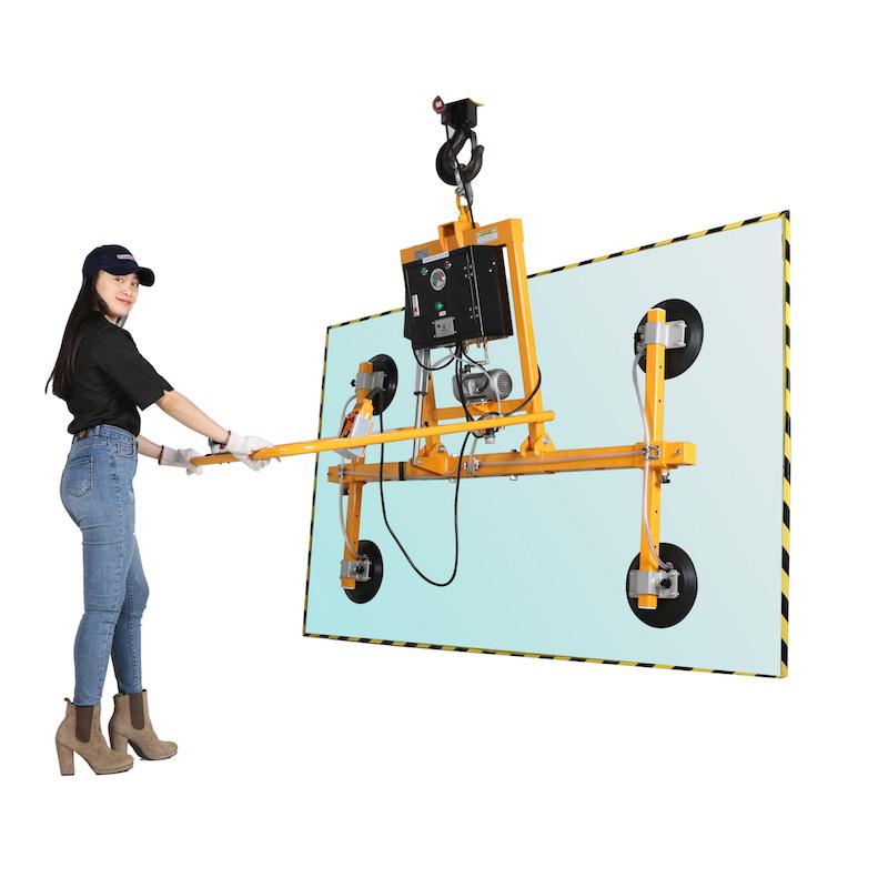 Thiết bị nâng kính chân không bằng điện 4 - 500kg