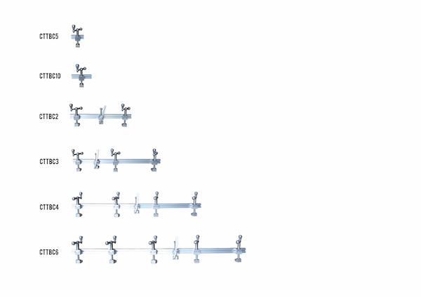 Lamination Rail Clamp 4' (1220mm) CTTBC4