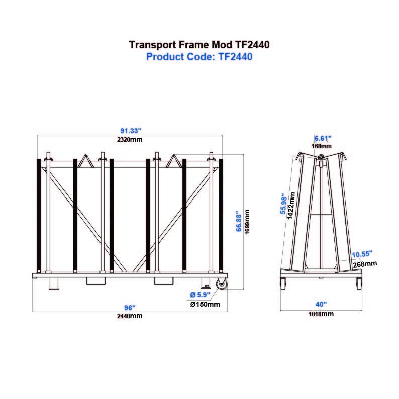 Transport Frame Mod TF2440