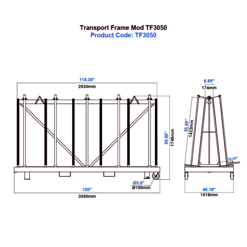 Transport Frame Mod TF3050